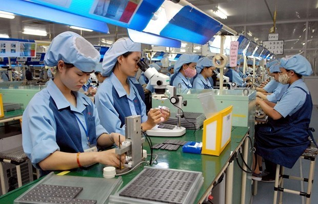 Ha Nam devises measures to support FDI firms in COVID-19 fight hinh anh 1