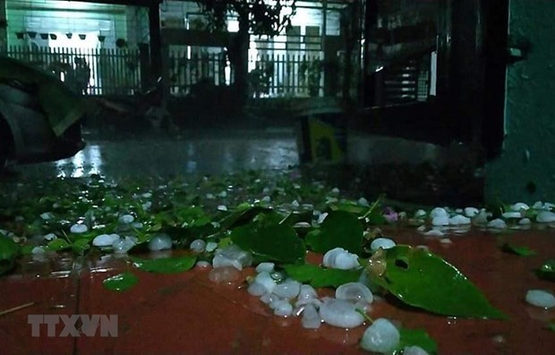 Hail causes damage in northern mountainous provinces hinh anh 1