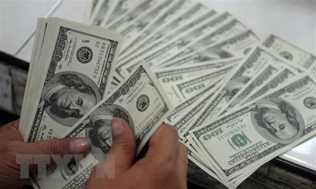 Reference exchange rate up 5 VND on March 18 hinh anh 1