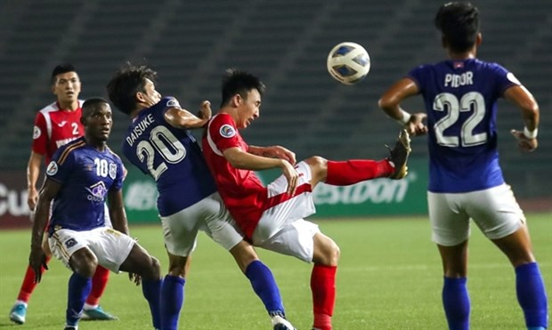 March and April AFC Cup matches postponed hinh anh 1