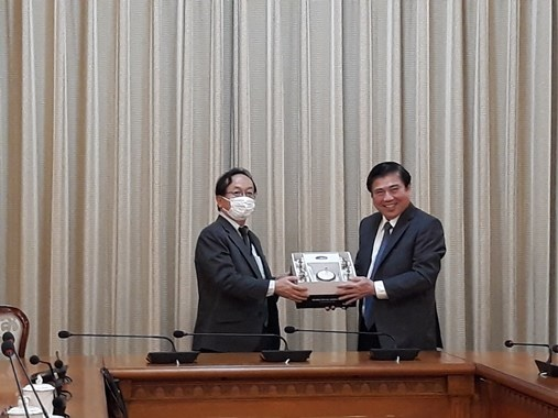 HCM City pledges to use Japan's ODA effectively hinh anh 1
