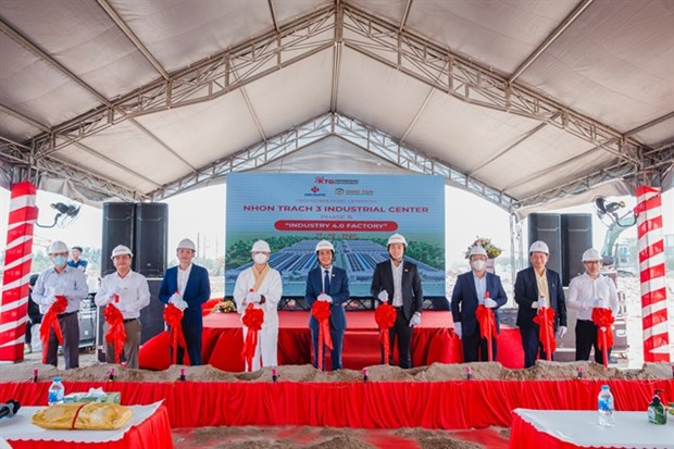 Work starts on industrial centre hinh anh 1