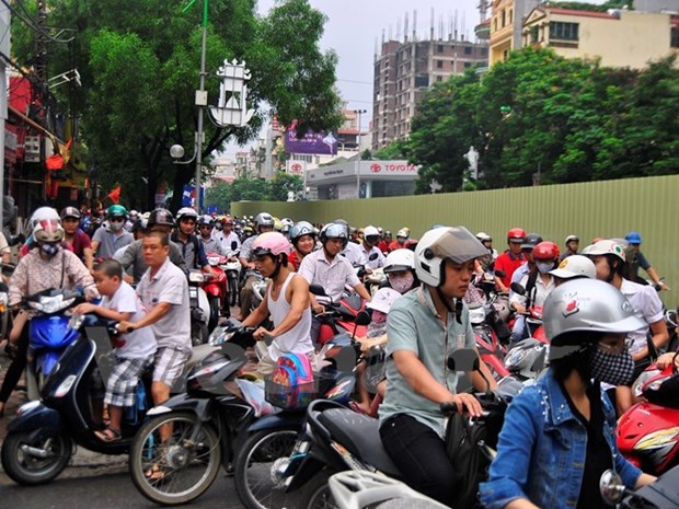 Ho Chi Minh City checks motorcycle emissions hinh anh 1