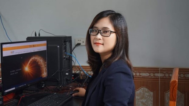 Phu Tho's teacher praised for ranking in global teacher prize's finalists hinh anh 1