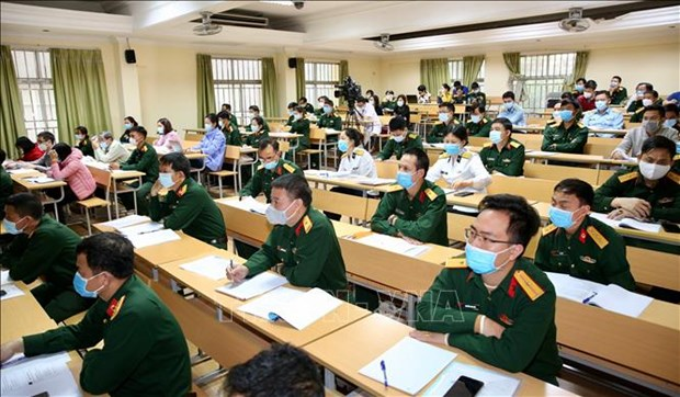 Military medical units qualified to perform coronavirus testing hinh anh 1