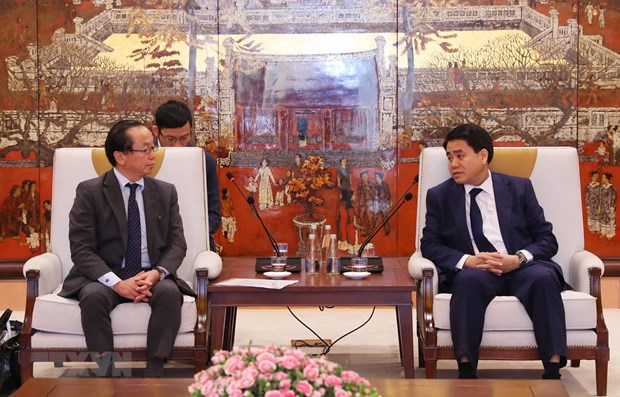 Hanoi, JICA work to accelerate ODA projects hinh anh 1