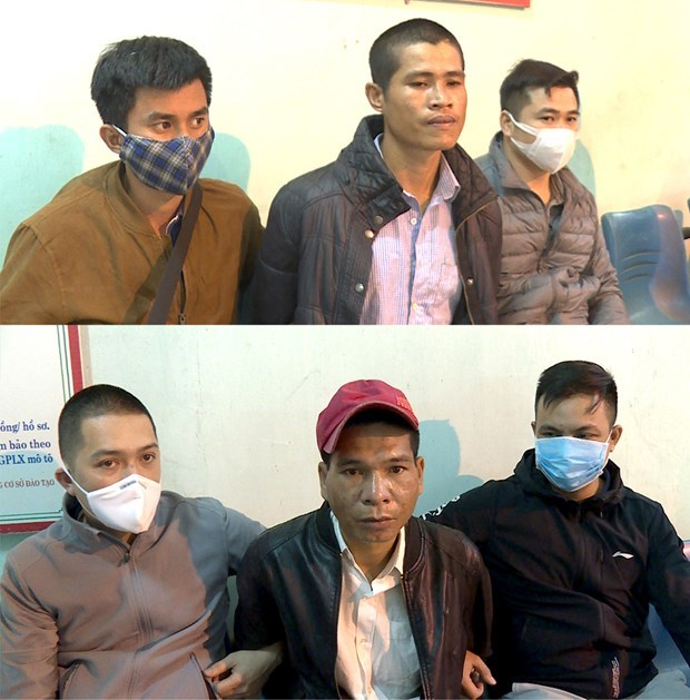 Phu Tho police detain three in drug-smuggling case hinh anh 1