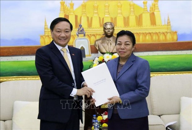 Party Central Committee extends greetings to LPRP on founding anniversary hinh anh 1