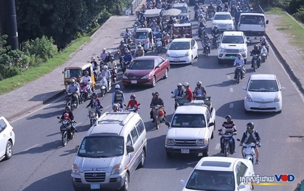 Cambodia raises fines for traffic violations five times hinh anh 1
