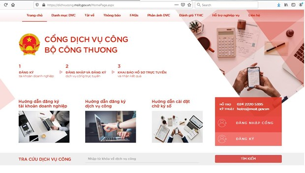 MoIT makes all public administrative services online hinh anh 1