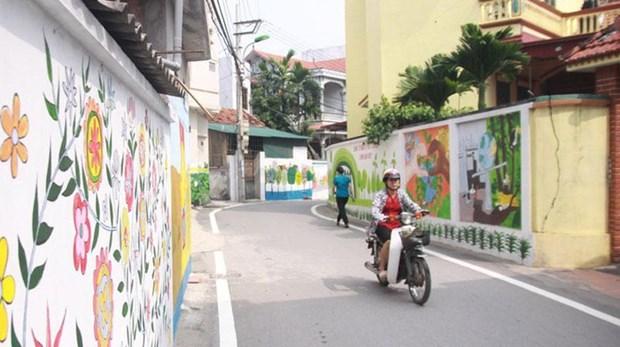 Hanoi: 92.2 percent of communes achieve new-style rural area status hinh anh 1