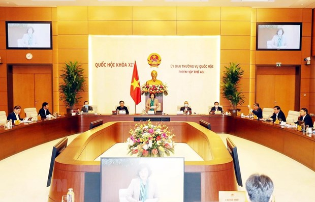 NA Standing Committee convenes 43rd session hinh anh 1