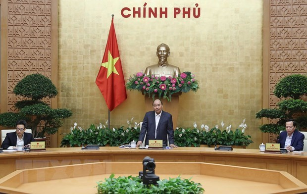 Meeting reviews performance of Party resolution on social policies hinh anh 1