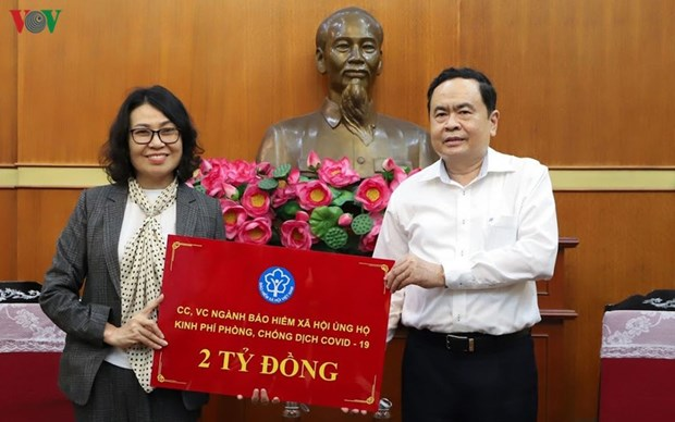 Over 5.2 million USD donated to aid COVID-19 fight in one day hinh anh 1