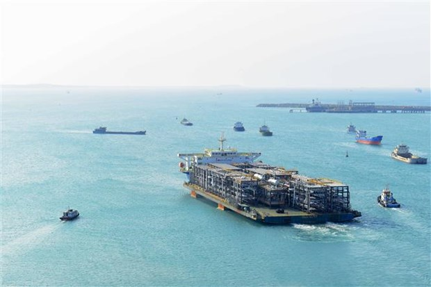Doosan Vina finishes 27 modules for Samsung Engineering Company hinh anh 1