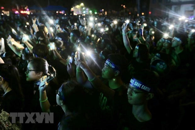 HCM City's youth union responds to Earth Hour 2020 hinh anh 1