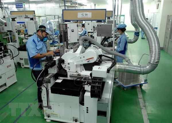 Newly registered FDI rises by nearly 45 percent in Q1 hinh anh 1