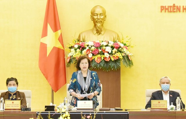 National Assembly Standing Committee concludes 43rd session hinh anh 1