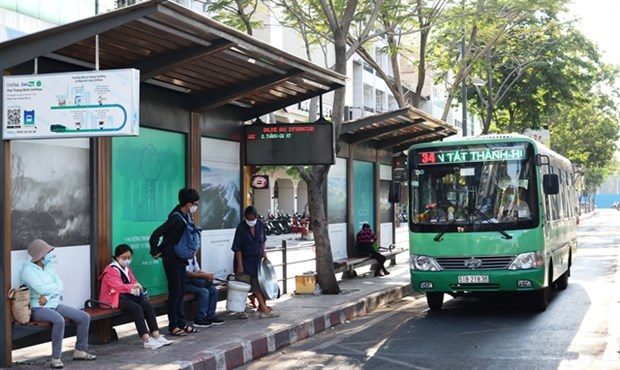 HCM City to open free parking space for bus passengers hinh anh 1