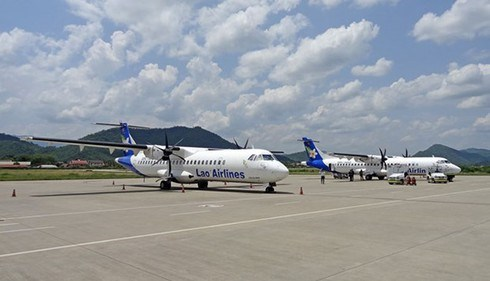Lao Airlines suspends int'l flights due to COVID-19 hinh anh 1