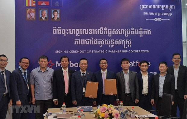 Metfone, MB Cambodia ink five-year cooperation deal hinh anh 1