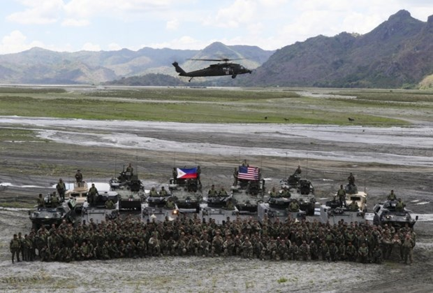 US cancels annual large-scale drill with Philippines hinh anh 1