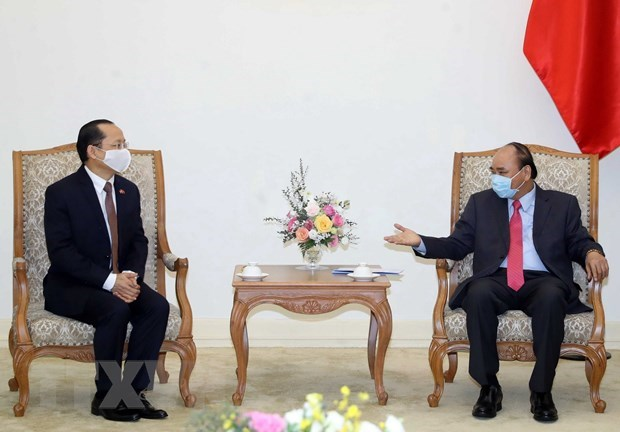 Prime Minister receives new Cambodian Ambassador hinh anh 1