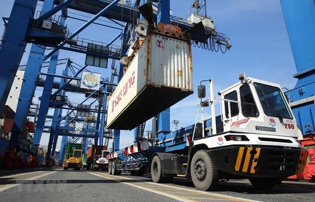 Vietnam enjoys trade surplus of 2.8 billion USD in first quarter hinh anh 1