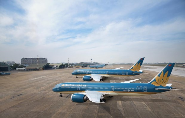 COVID-19: Vietnam Airlines cuts domestic flights hinh anh 1
