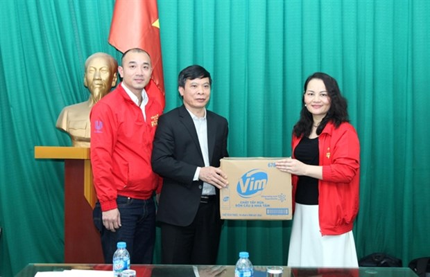 Unilever Vietnam launches initiative to protect community from COVID-19 pandemic hinh anh 1