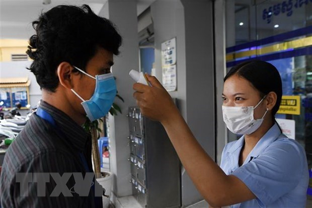Cambodia reports 107 COVID-19 infection cases hinh anh 1