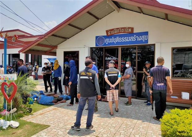 Prisoners escape in Thailand's jail riot hinh anh 1