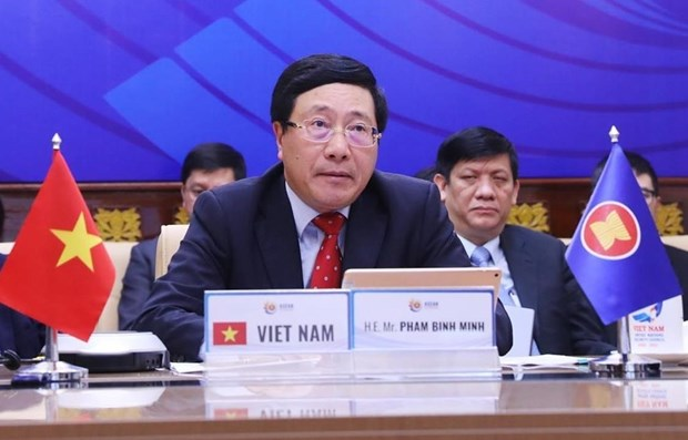 Vietnam, Philippines discuss cooperation amid complicated COVID-19 pandemic hinh anh 1