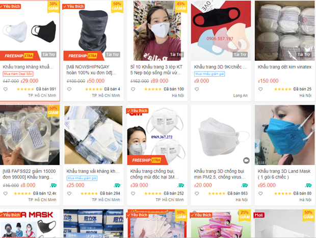 Nearly 16,200 online stores sanctioned for profiting from COVID-19 hinh anh 1