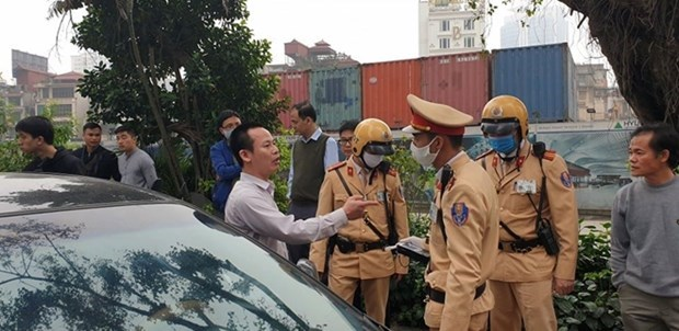 Traffic accidents, deaths, injuries fall in three months hinh anh 1