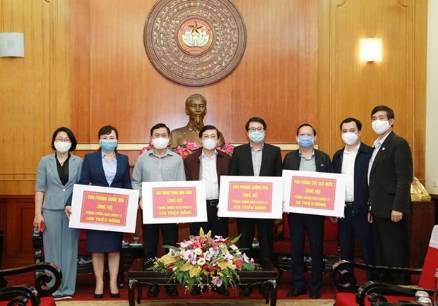 Nearly 29 million USD raised for COVID-19 fight hinh anh 1