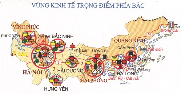 Localities in northern key economic region connect for growth hinh anh 1