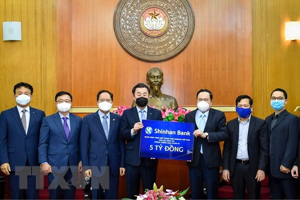 RoK's bank supports over 200,000 USD for Vietnam's COVID-19 fight hinh anh 1