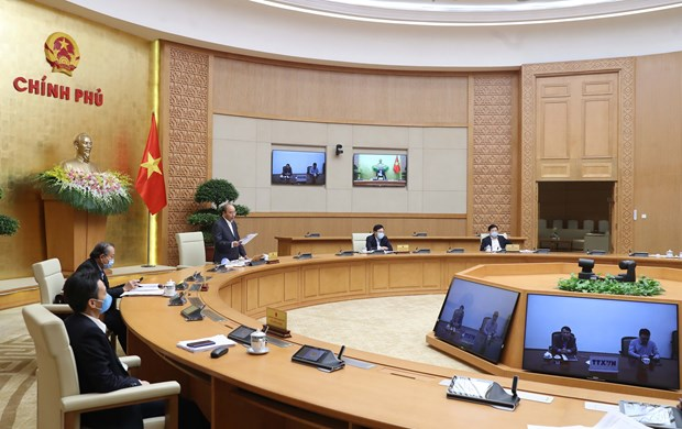 Vietnam aims to contain COVID-19 within one month hinh anh 1