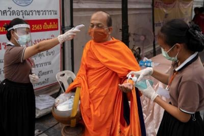 Thailand imposes nationwide curfew amid increasing COVID-19 cases hinh anh 1