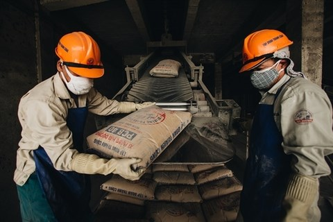 Cement, clinker exports drop due to COVID-19 pandemic hinh anh 1