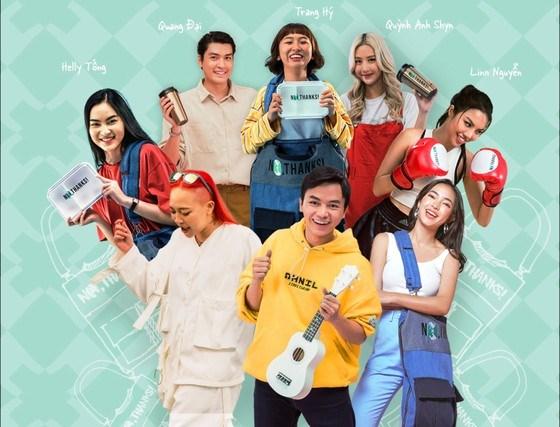 Vietnamese artists spread message against single-use plastics hinh anh 1