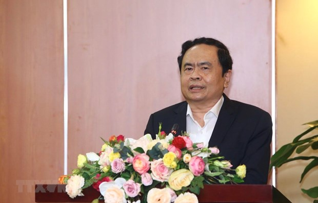 Fatherland Front leader sends Easter greetings hinh anh 1