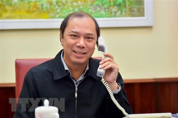 Vietnamese, Australian Deputy FMs talks joint work amid COVID-19 hinh anh 1