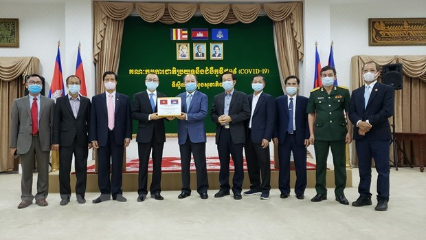 Cambodia thanks Vietnam for medical support in COVID-19 fight hinh anh 1