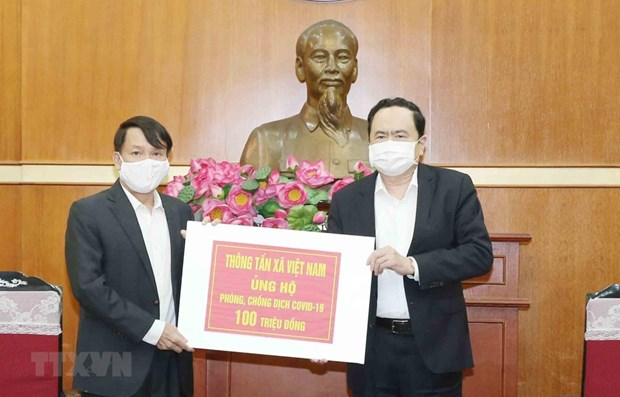 VNA supports national fund to fight COVID-19 hinh anh 1