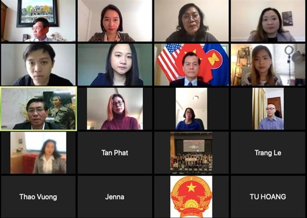 Citizen protection online discussion in US against COVID-19 hinh anh 1