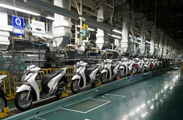 Motorcycle sales decrease in first quarter hinh anh 1