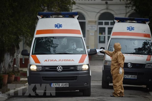 22,000 USD given to help Romania's fight against COVID-19 hinh anh 1