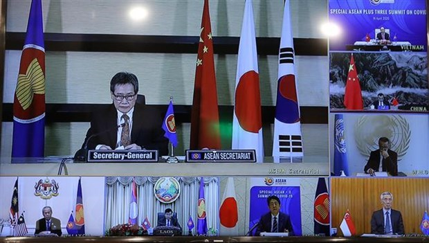ASEAN chief hails Vietnam's leadership in regional response to COVID-19 hinh anh 1